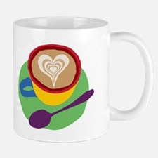 Latte Foam Heart Mug