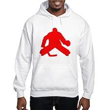 Red Hockey Goalie Hoodie
