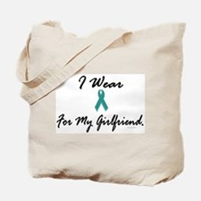 I Wear Teal For My Girlfriend 1 Tote Bag