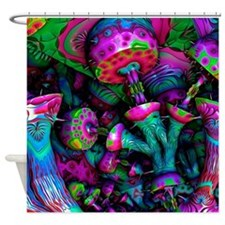 Magic Mushroom Shrooms Shower Curtain
