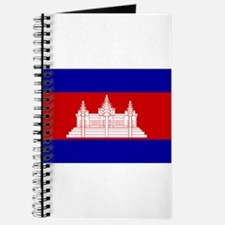 Cambodia Flag Journal