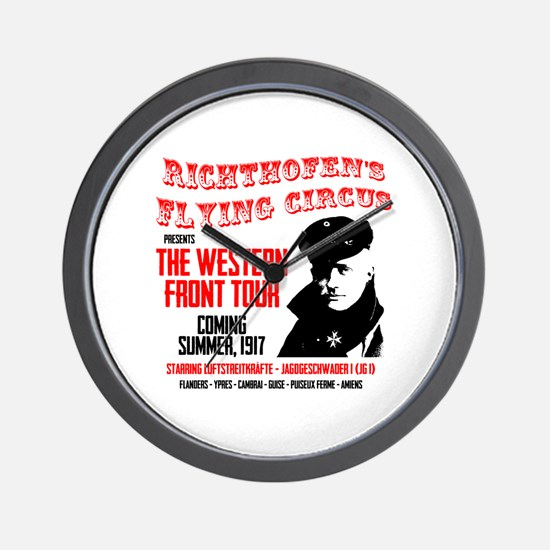 Richthofen's Flying Circus Wall Clock