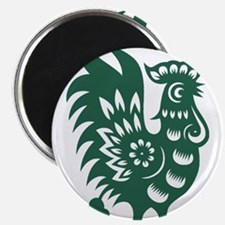 Rooster Chinese Astrological Zodiac Sign Magnets