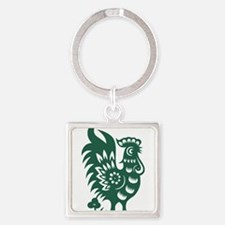 Rooster Chinese Astrological Zodiac Sign Keychains