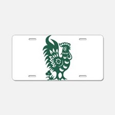 Rooster Chinese Astrologica Aluminum License Plate