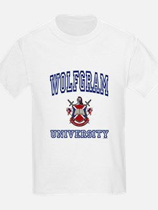 WOLFGRAM University T-Shirt
