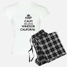 Keep calm we live in Windso Pajamas