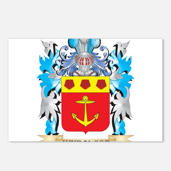 Meirowicz Coat of Arms - Postcards (Package of 8)