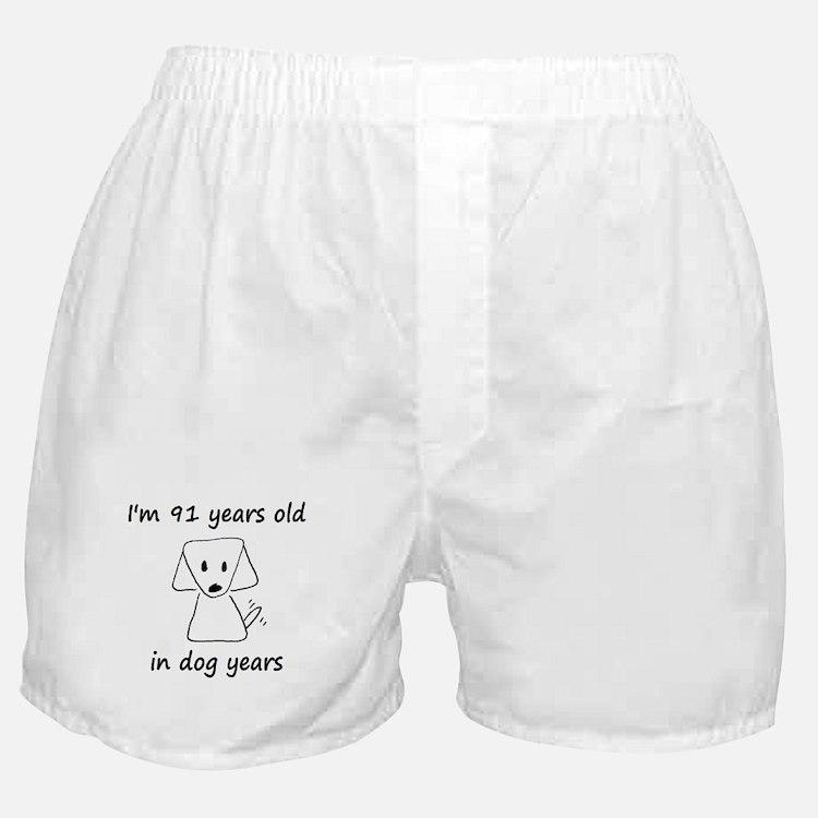 13 dog years 6 Boxer Shorts