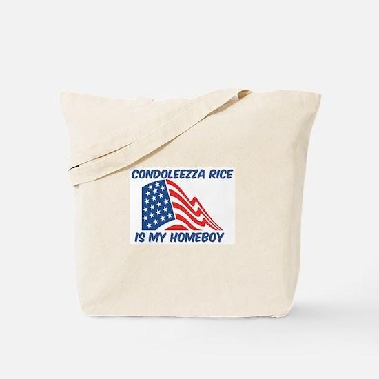 CONDOLEEZZA RICE is my homebo Tote Bag