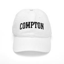COMPTON (curve-black) Baseball Cap
