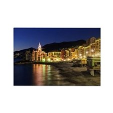 Camogli at evening Rectangle Magnet