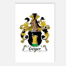 Geiger Postcards (Package of 8)