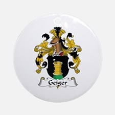Geiger Ornament (Round)