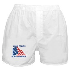 COLIN POWELL is my homeboy Boxer Shorts