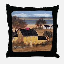 Yellow Farmhouse Throw Pillow