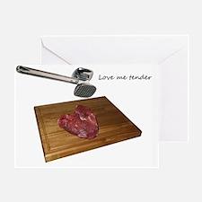Valentines- Love me Tender Greeting Card