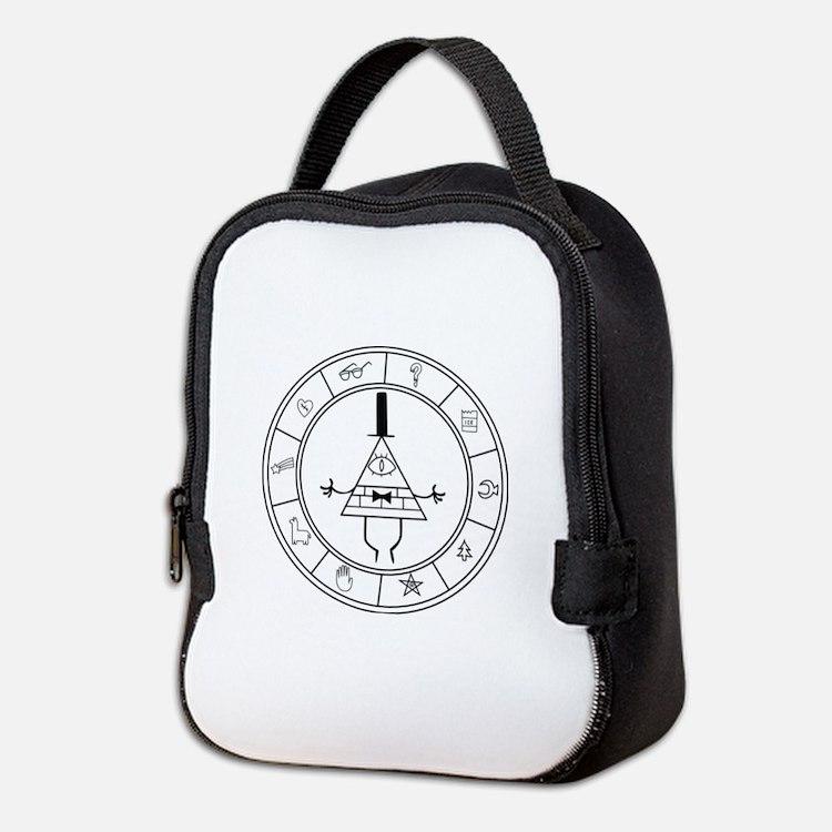 Cute Gravity falls Neoprene Lunch Bag