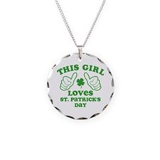 This Girl Loves St. Pat's Necklace