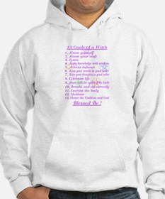 13 Goals of a Witch Hoodie