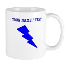 Custom Blue Lightning Mugs