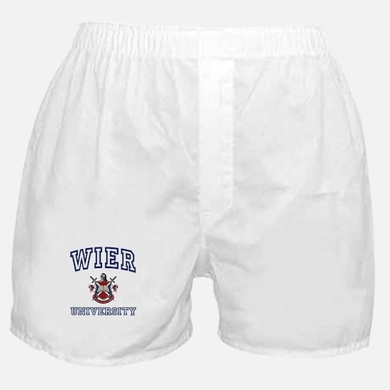 WIER University Boxer Shorts
