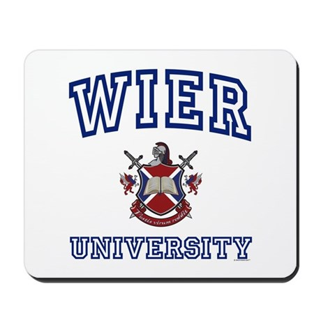 WIER University Mousepad