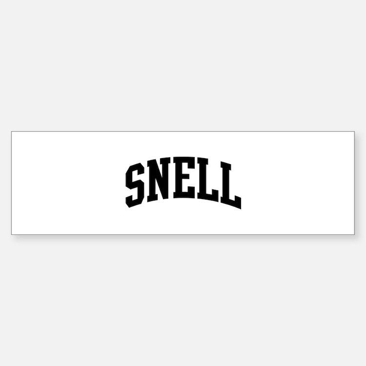 Snell Reunion Car Accessories Auto Stickers License