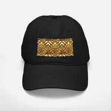 Golden Patchwork Baseball Hat