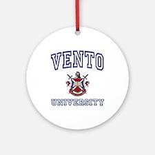 VENTO University Ornament (Round)
