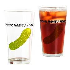Custom Pickle Drinking Glass