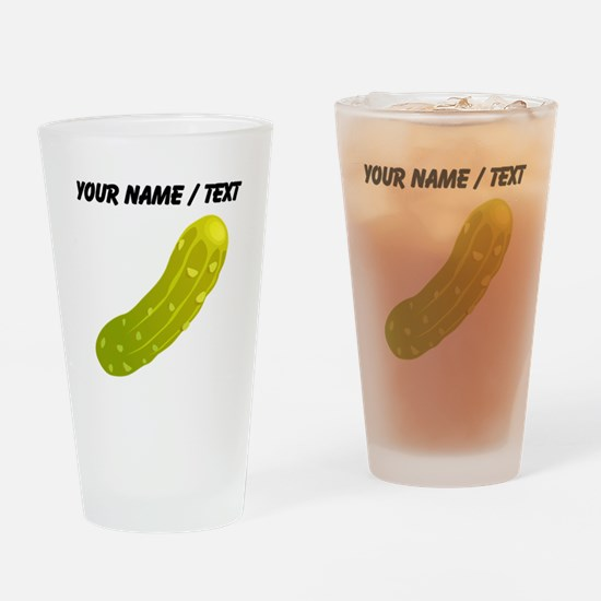 Custom Pickle Drinking Glass
