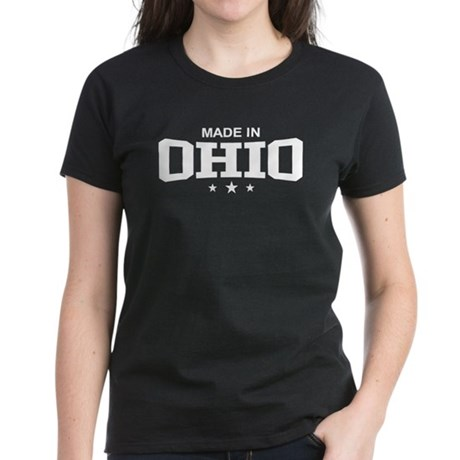 Made In Ohio Women's Dark T-Shirt