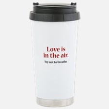 Love Is In The Air Ceramic Travel Mug