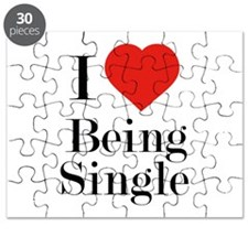 I Love Being Single Puzzle