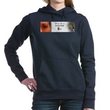 Tails of a Shelter Vet Women's Hooded Sweatshirt
