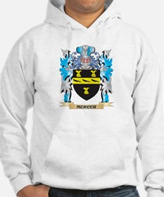 Mercer Coat of Arms - Family Cre Hoodie