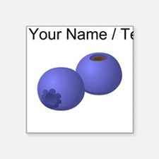 Custom Blueberries Sticker