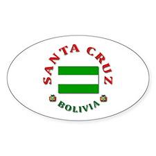 Santa Cruz Oval Decal