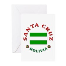 Santa Cruz Greeting Cards (Pk of 10)