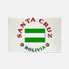 Santa Cruz Rectangle Magnet