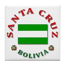 Santa Cruz Tile Coaster
