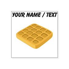 Custom Waffle Sticker