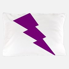 Purple Lightning Pillow Case