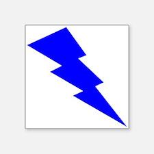 Blue Lightning Sticker