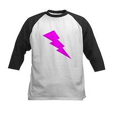 Pink Lightning Baseball Jersey