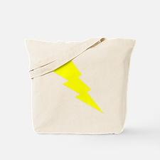 Yellow Lightning Tote Bag