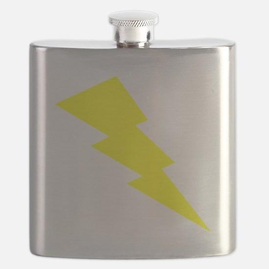 Yellow Lightning Flask