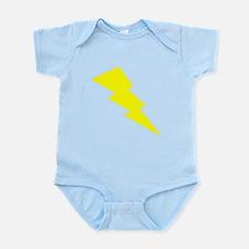 Yellow Lightning Body Suit