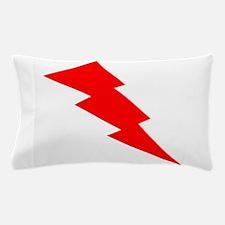 Red Lightning Pillow Case